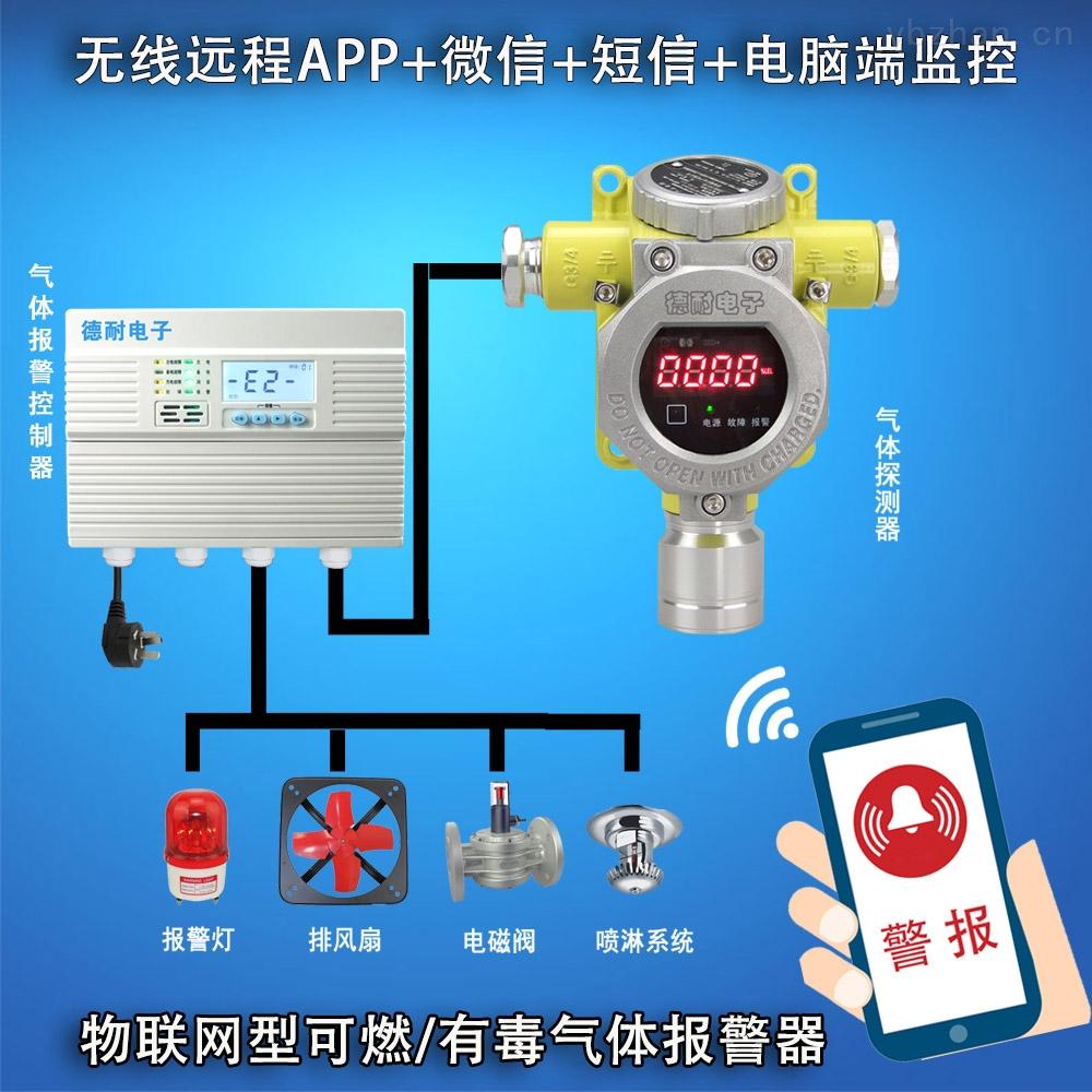 化工厂罐区甲苯气体检测报警器,APP监控