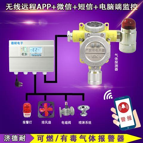 化工厂罐区氮氧化物报警器,无线监控