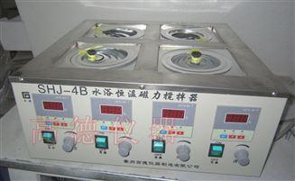 雙列四倉磁力攪拌水浴鍋
