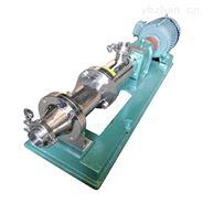 不銹鋼衛生級單螺桿泵