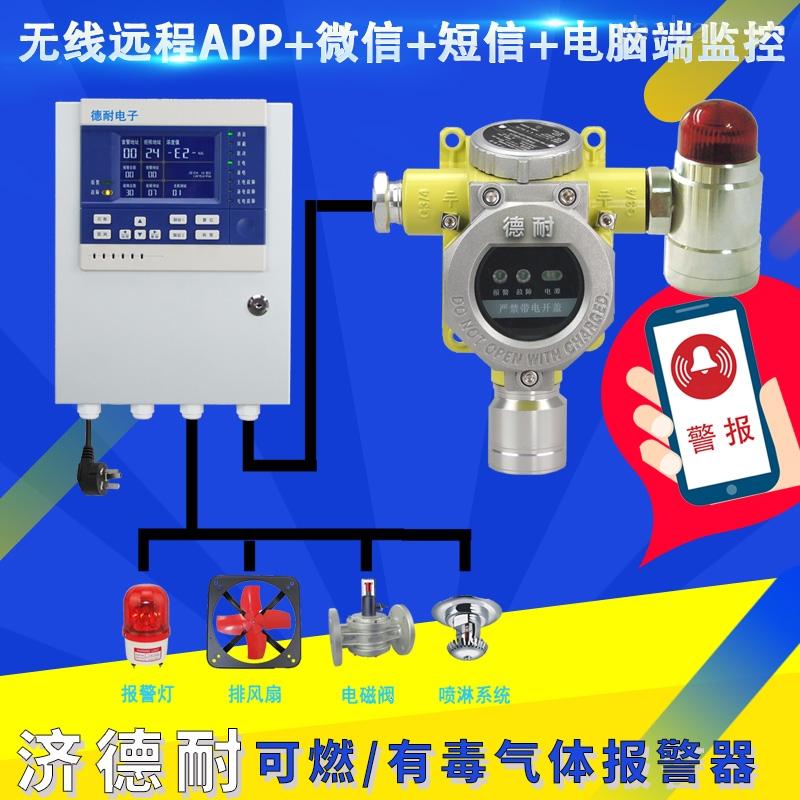 防爆型氢气泄漏报警器,煤气泄漏报警器