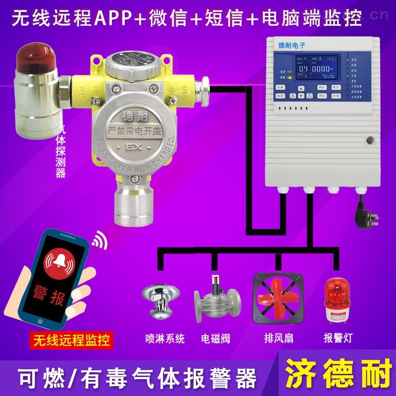 化工厂仓库氧气泄漏报警器,可燃气体报警系统