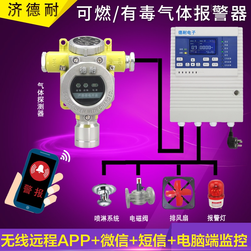 防爆型乙醇气体报警器,气体探测器探头