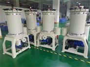 创升解决电镀过滤机不抽水的办法