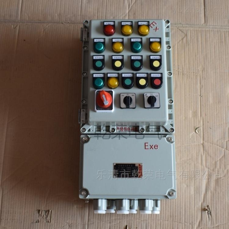 防爆按钮箱 控制电机开关箱生产厂家