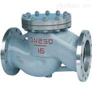 升降式钢制止回阀碳钢单向阀H41Y-40C