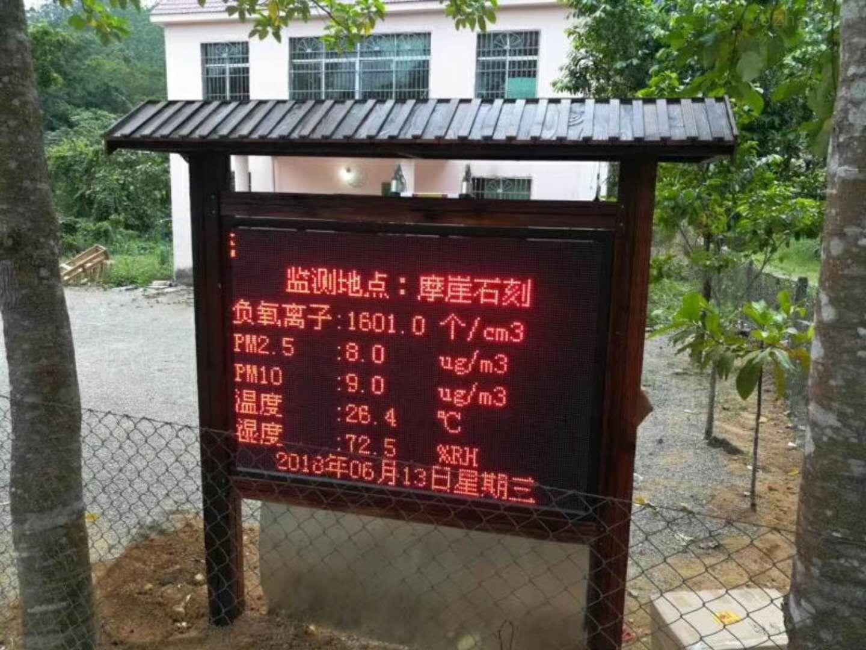 BYQL-YZ-户外环境负氧离子监测系统 厂家品牌