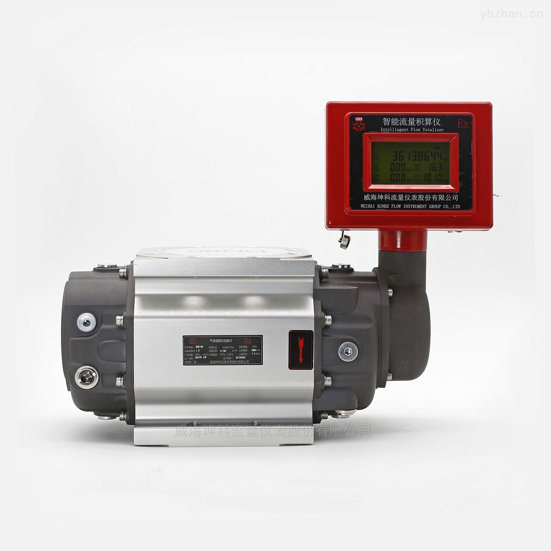 KKQY-江苏高精度远传宽量程智能腰轮流量计厂家