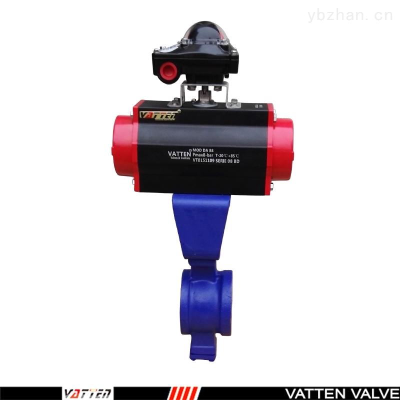 VT-电动V型球阀,不锈钢对夹球阀,上海厂家