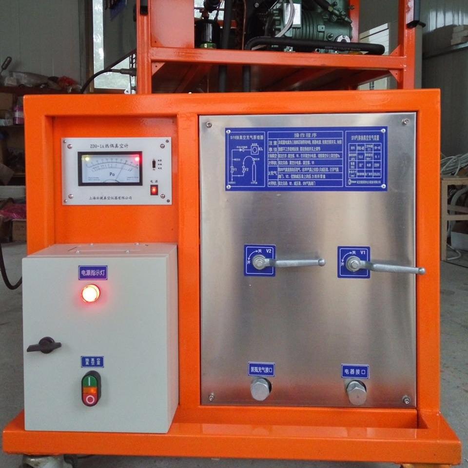 智能型SF6气体回收综合装置