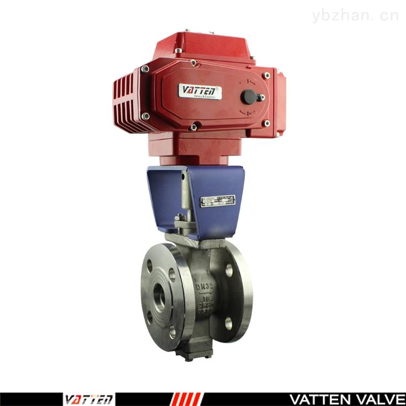 VT-电动V型不锈钢对夹球阀,适用造纸业等领域