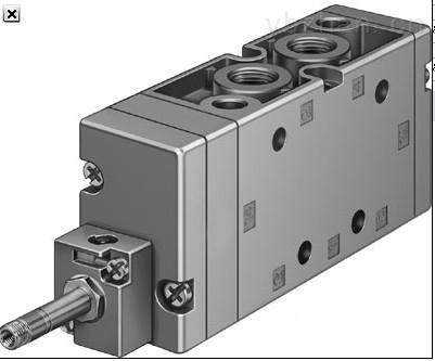 德FESTO电磁阀安装类型