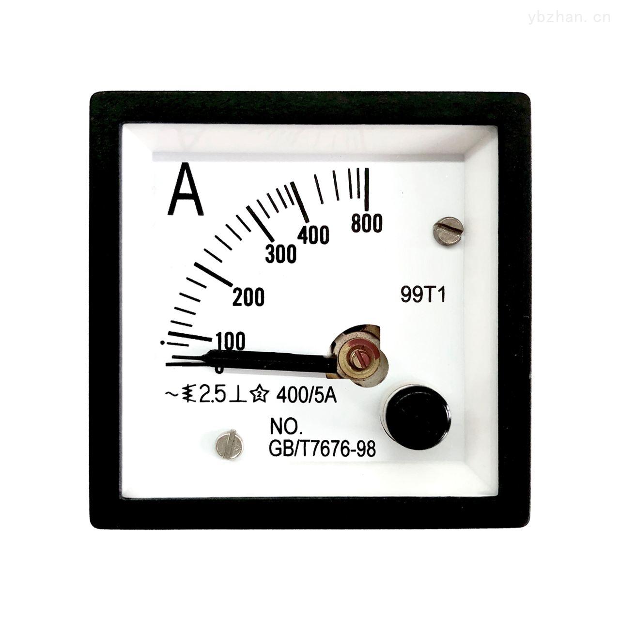 99T1指針式電流表電壓表指針式儀表