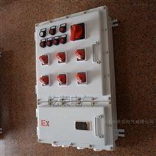 BXMD带按键操作防爆温控配电箱