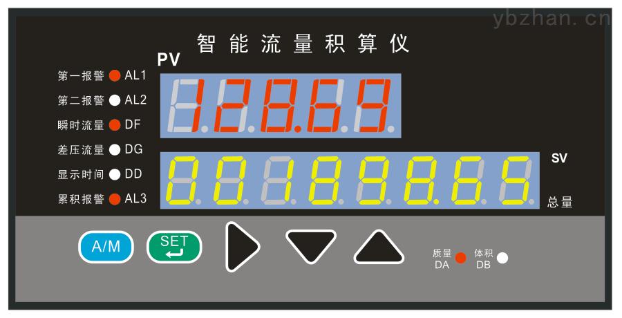 质优价廉优惠促销液体流量累积积算控制仪