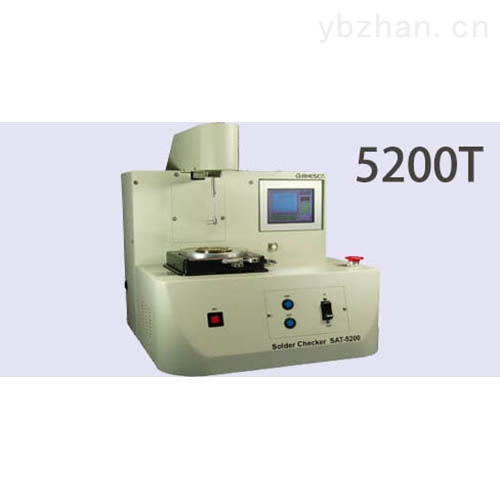 【潤濕性平衡測試儀】5200T廣泛用于不同領域里的可焊性及潤濕性的測試與評價