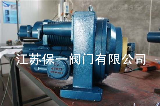 DKJ直行程防爆型电动执行器