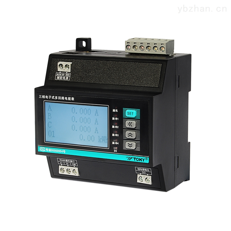 DJZ8080六回路直流电能表