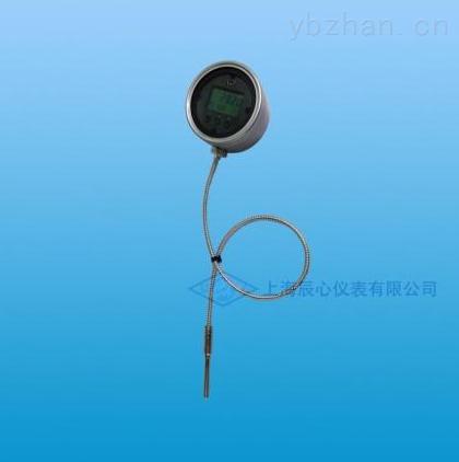 廠家供應帶毛細管內置電源溫度表