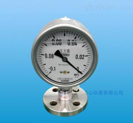 Y(N)C-不銹鋼耐震隔膜壓力表