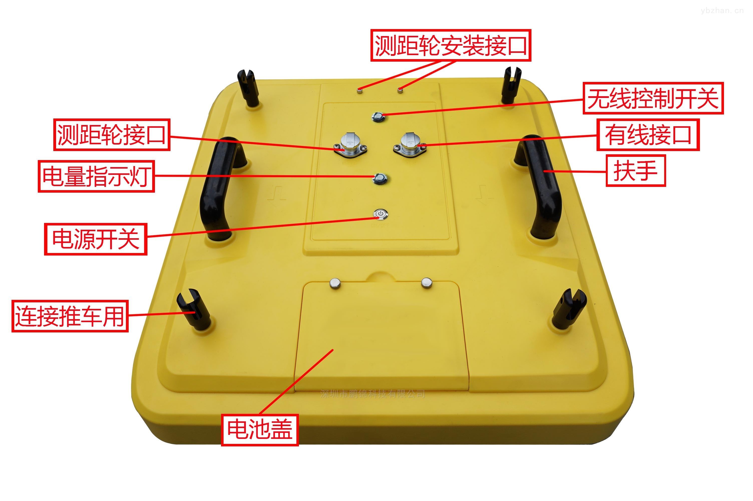 0-8米下水道污水管探测探地雷达