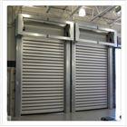 金属钢制防撞工业冷库大门 涡轮硬质快速门
