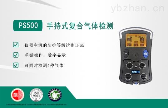 可同时检测4种气体检测仪PS500