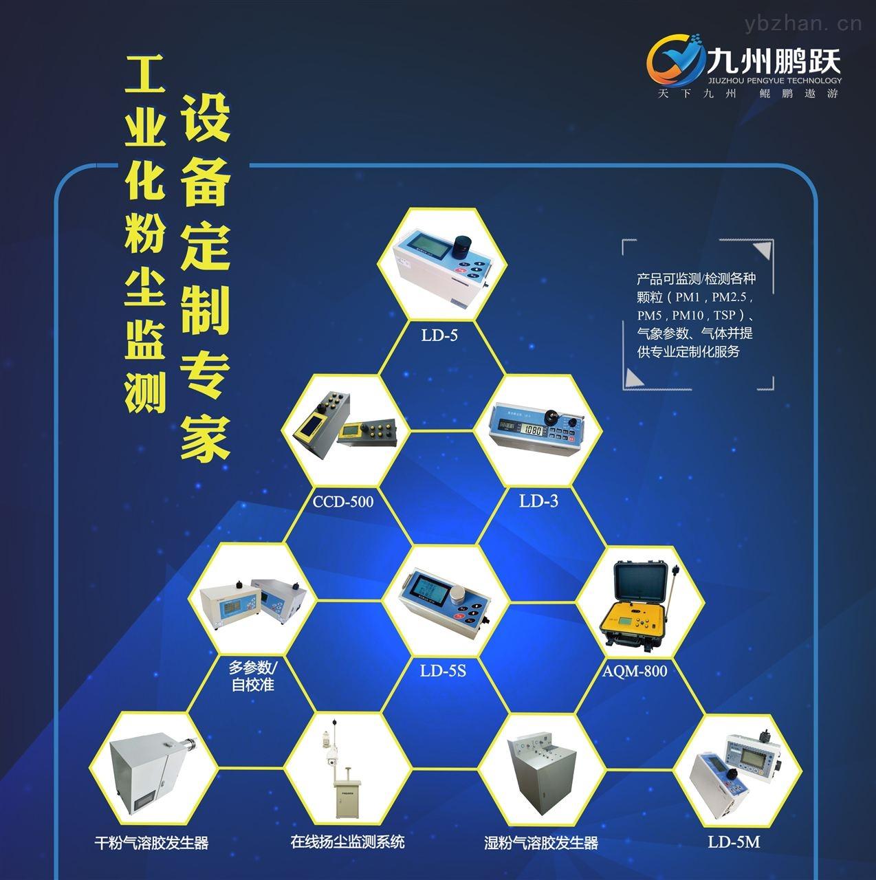 LD-5M-九州鵬躍 多參數激光粉塵儀