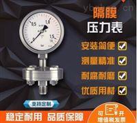 YMN系列隔膜式耐震压力表