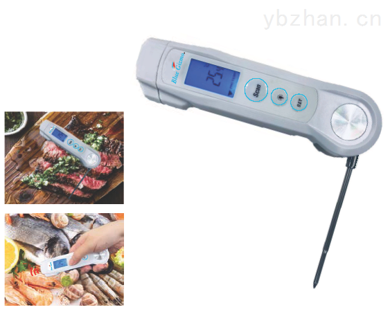 BG43S-新加坡Blue Gizmo非接觸式紅外測溫儀二合一