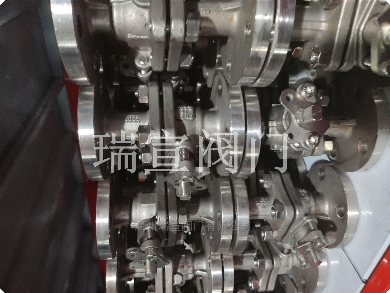 Q41Y-16P-金属硬密封法兰球阀