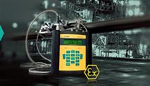 LUXUS 防爆型手持式超聲波氣體流量計 G608