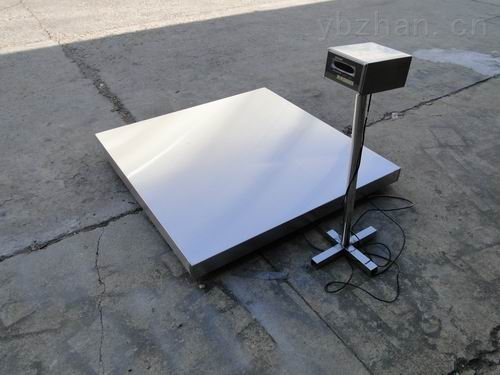 3吨工厂货品称重不锈钢电子台秤 电子地磅