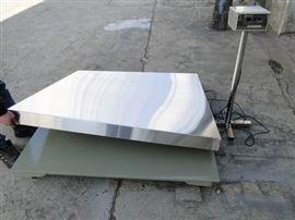 1.5m*3m防潮不锈钢地上衡/地磅