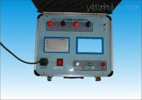 绥化市承装修试大型电力变压器直阻仪
