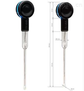哈纳蓝牙超细球形玻璃酸度电极(适用试管)