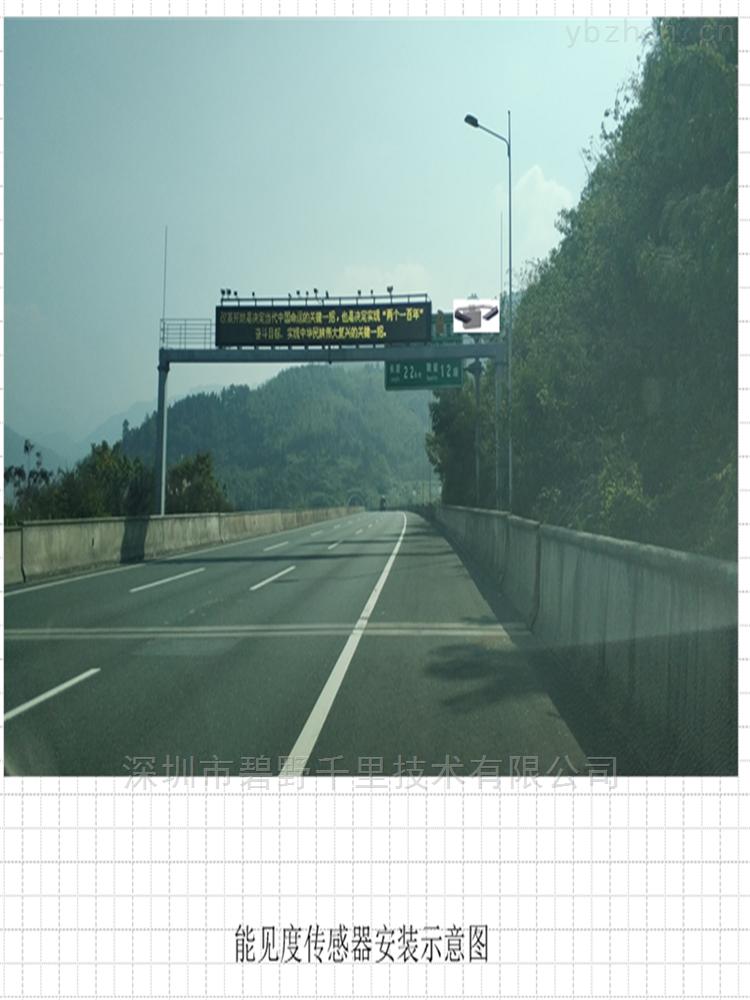湖南高速公路氣象環境監測站功能特點作用