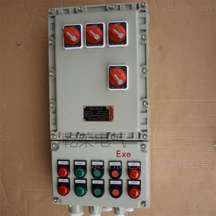 液体处理防爆控制箱