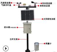 RS-QXZ一体化雨量气象站雨量监测山洪预警气象仪