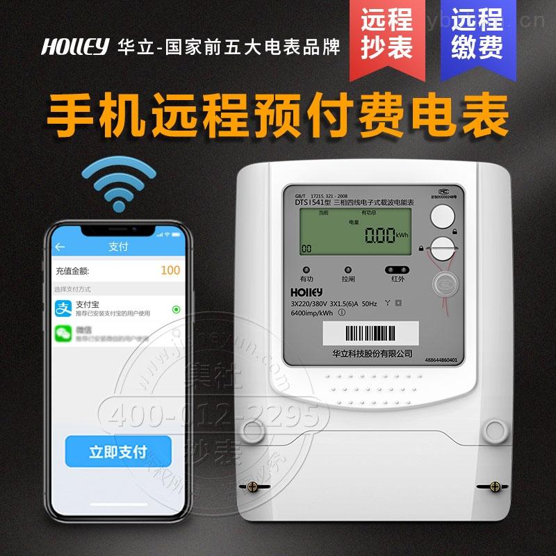 杭州華立DTSI541-三相四線遠程預付費載波電表 免費配系統