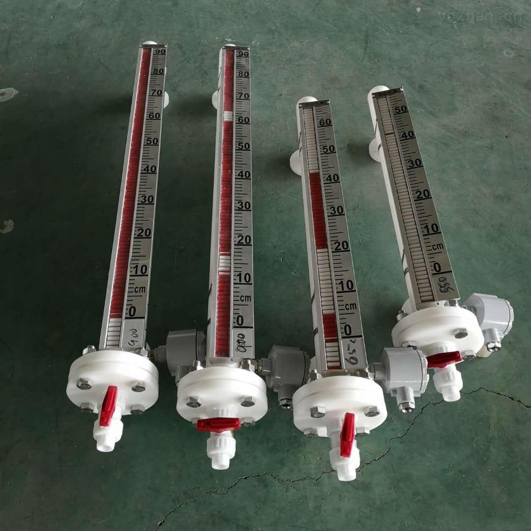 DN140化工储罐耐腐蚀液位计保持型