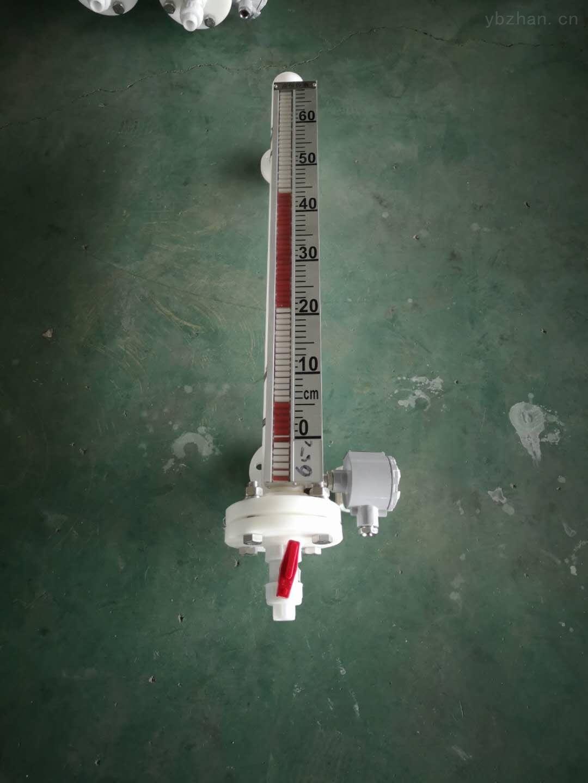 防爆磁翻板液位计UHZ-31不锈钢高温面板