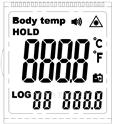 數顯溫度計液晶顯示屏開模訂做生產