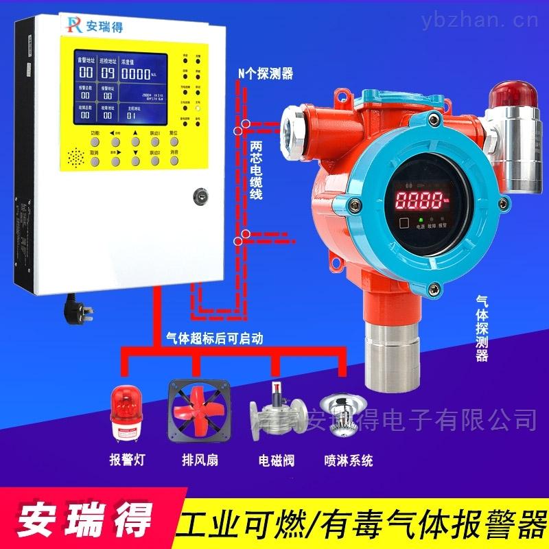 学校食堂液化气报警器,工业可燃气体报警器