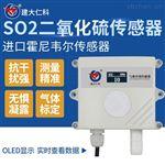 建大仁科工業485模擬量二氧化硫檢測傳感器