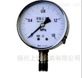 YA-100、150系列氨压力表