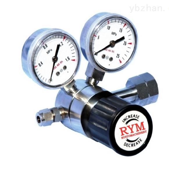 减压器RYM11SL-上海不锈钢减压器实验室单级减压阀生产厂家