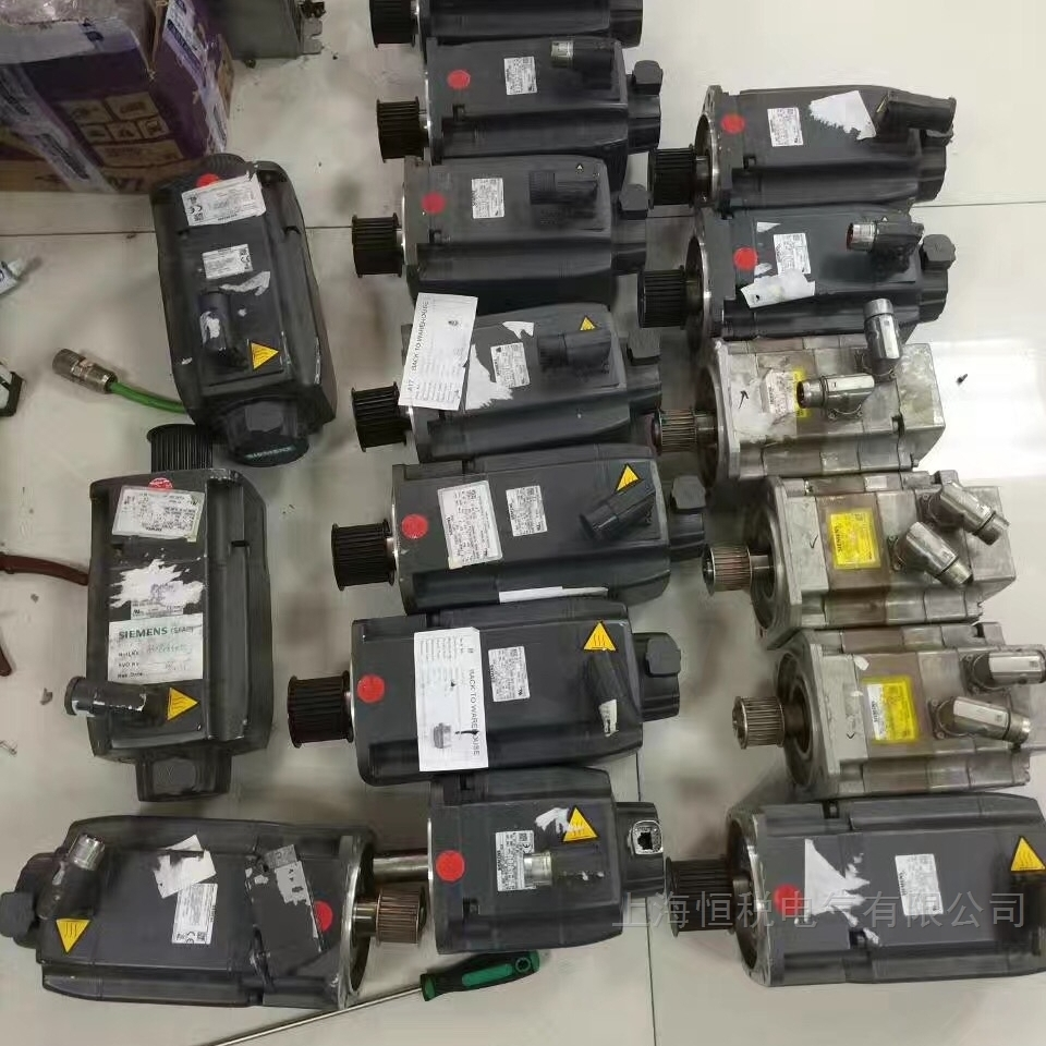 西门子伺服电机电流高,电压高