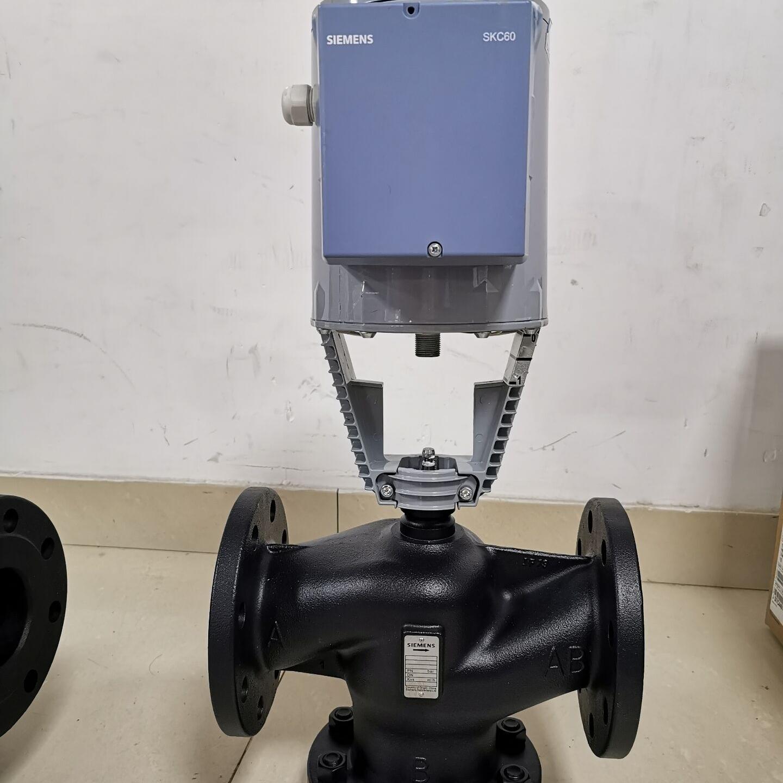 西門子溫控閥VVF53.250-630K供熱管網用