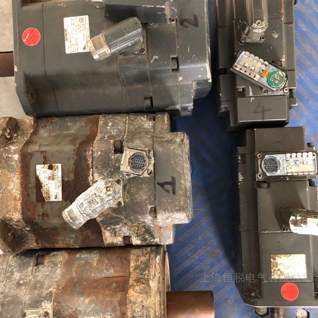 西门子伺服电机轴承坏转不动修复解决